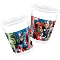 Contient : 1 x 8 Gobelets Avengers Power