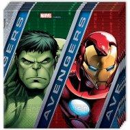 20 Serviettes Avengers Power