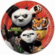 8 Assiettes Kung Fu Panda 3