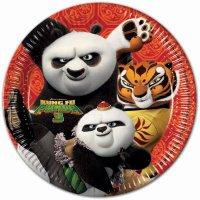 Contient : 1 x 8 Assiettes Kung Fu Panda 3