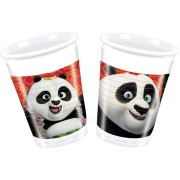 8 Gobelets Kung Fu Panda 3