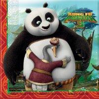 Contient : 1 x 20 Serviettes Kung Fu Panda 3