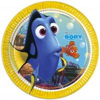Contient : 1 x 8 Assiettes Le monde de Dory