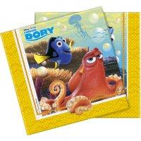 Contient : 1 x 20 Serviettes Le monde de Dory