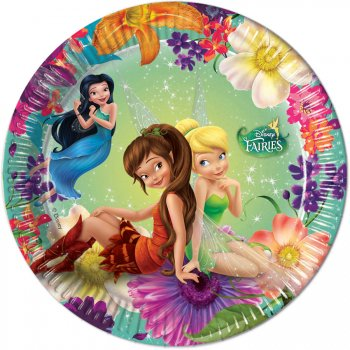 8 Petites Assiettes Fairies Magic