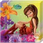 20 Serviettes Fairies Magic