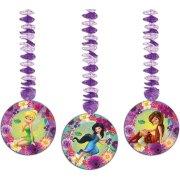3 Décorations à Suspendre Fairies Magic