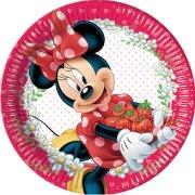 8 Assiettes Minnie Frutti