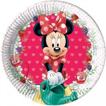 8 Petites Assiettes Minnie Frutti