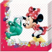 20 Serviettes Minnie Frutti