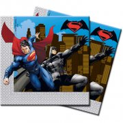 20 Serviettes Batman vs Superman