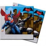 20 Serviettes Batman vs Superman