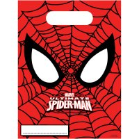 Contient : 1 x 6 Pochettes Cadeaux Ultimate Spiderman Power