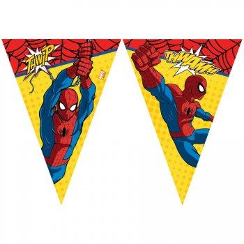Guirlande fanions Ultimate Spiderman Power