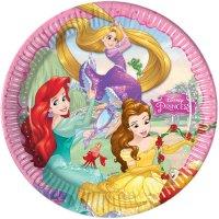 Contient : 1 x 8 Assiettes Princesses Disney Dreaming