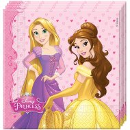 20 Serviettes Princesses Disney Dreaming