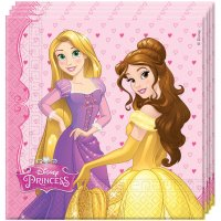 Contient : 1 x 20 Serviettes Princesses Disney Dreaming