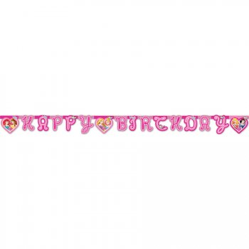 Guirlande lettres Happy Birthday Princesses Disney Dreaming