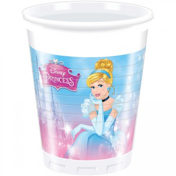8 Gobelets Princesses Disney Charming