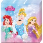 20 Serviettes Princesses Disney Charming