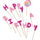 Bougies Lettres Happy Birthday Princesses Disney