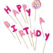 Bougies Lettres Happy Birthday Princesses Disney