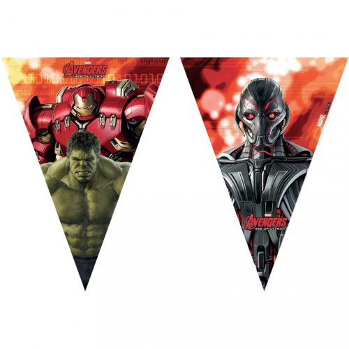 Guirlande fanions Avengers 2 Ultron