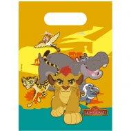6 Pochettes Cadeaux La garde du Roi Lion