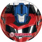 8 Petites Assiettes Transformers Robots in Disguise