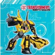 20 Serviettes Transformers Robots in Disguise