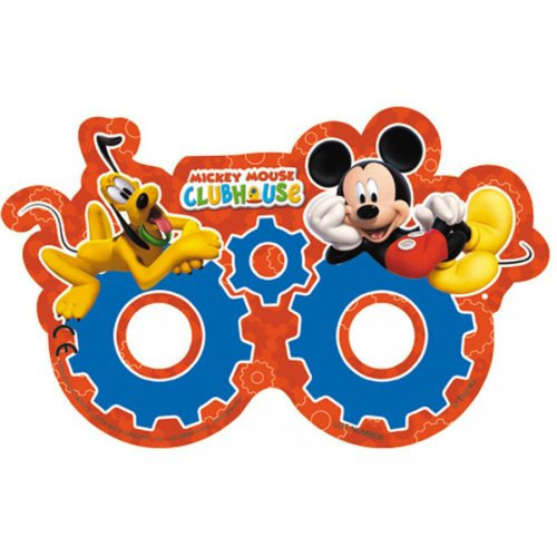 6 Masques Lunettes Mickey et Pluto