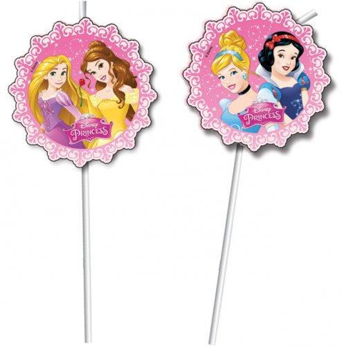 6 Pailles Princesses Disney Dreaming