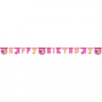 Guirlande lettres Happy Birthday Mia et Moi