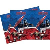 Contient : 1 x Nappe Captain America Civil War