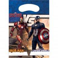 6 Pochettes Cadeaux Captain America Civil War