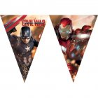 Guirlande fanions Captain America Civil War