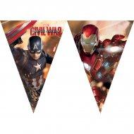 Guirlande fanions Captain America Civil War