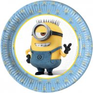 8 Petites Assiettes Lovely Minions