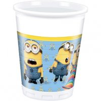 Contient : 1 x 8 Gobelets Lovely Minions