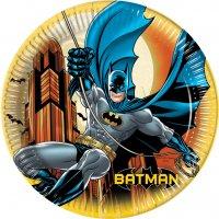 Contient : 1 x 8 Assiettes Batman Dark Hero