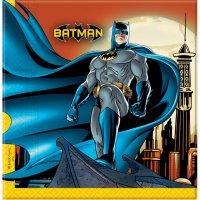 Contient : 1 x 20 Serviettes Batman Dark Hero