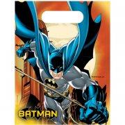 6 Pochettes Cadeaux Batman Dark Hero