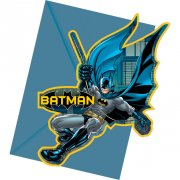 6 Invitations Batman Dark Hero