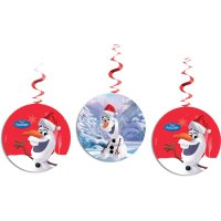Contient : 1 x 3 Guirlandes Spirales Olaf Christmas