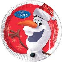 Contient : 1 x 1 Assiette Olaf Christmas