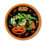 8 Assiettes Star Wars Halloween