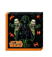20 Serviettes Star Wars Halloween