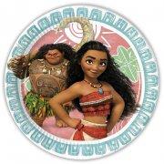 8 Assiettes Vaiana et Maui