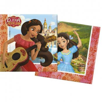 20 Serviettes Elena d Avalor