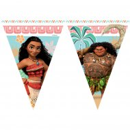 Guirlande fanions Vaiana et Maui